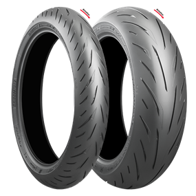 160/60ZR17 M/C 69W TL BRIDGESTONE BATTLAX HYPERSPORT S22