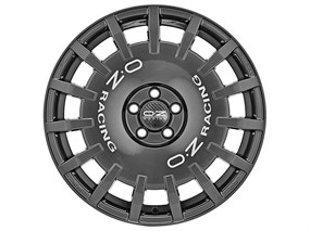 RALLY RACING 7X17 ET 45  5X108  DARK GRAPHITE